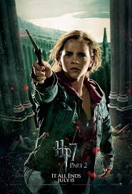 harry potter hermione harry potter and the deathly hallows part 2 movie poster style s