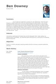 100 pastoral resume template 8 best resume templates images on