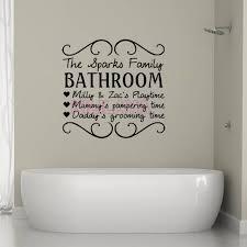 Diy Kids Bathroom - vinyl wall stickers for kids bathroom the sparks family mural wall