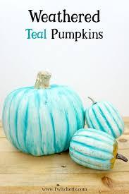 plastic pumpkins teal painted plastic pumpkin teal pumpkin ideas twitchetts