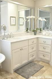 bathroom hardware ideas silver framed bathroom mirror house decorations