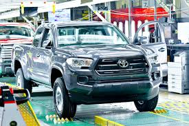 truck toyota 2016 2016 toyota tacoma truck plant texas the fast lane truck