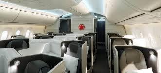 747 Dreamliner Interior Air Canada 787 Dreamliner