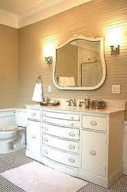 Repurposed Bathroom Vanity by Antique Buffet Repurposed Into A Bathroom Sink Bathrooms And