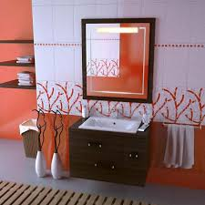 orange bathroom ideas orange bathroom ideas modern
