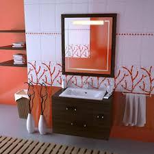 orange bathroom ideas orange bathroom ideas modern