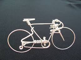 bicycle cake topper handcrafted mens road bike small unique biking