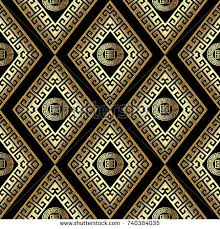modern geometric greek key seamless pattern stock vector 713398972