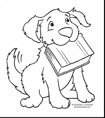 astonishing puppies coloring pages printable with clifford