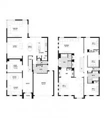 2 house plans with 4 bedrooms 7 best house designs images on house design