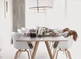 scandinavian dining chair oval brown polished teak dining table