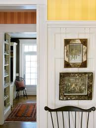 photos hgtv traditional entryway features striped wallpaper white