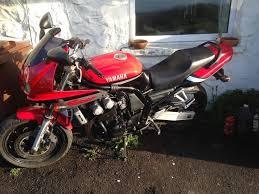 yamaha fazer fzs 600cc 2001 motorbike in buxton derbyshire