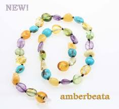 teething necklace baby images Baby teething necklace butterscotch and lemon baltic sea amber jpg