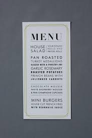 menu design for dinner party menu design ideas weddings events rehearsal dinners