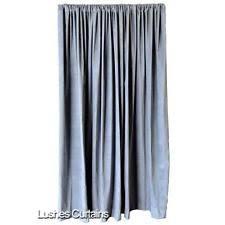 Turquoise Velvet Curtains Velvet Curtains Ebay