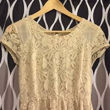 69 off urban outfitters dresses u0026 skirts urban outfitters cream
