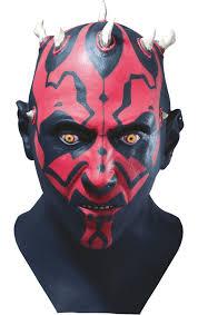 darth maul deluxe latex mask jokers masquerade