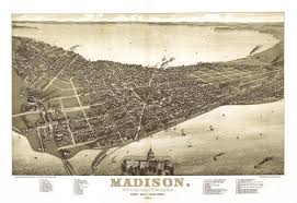 map of oregon wi historical map of wi 1885