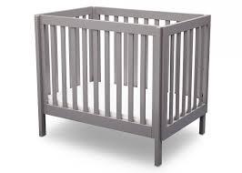 Delta Mini Crib Delta Mini Crib Mattress 5 Delta Children Grey 180 Bennington