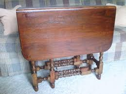 Late 1920s Antique Drop Leaf Gate Leg Table It Was My Mother S Now
