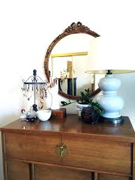 Antique Tiger Oak Dresser With Mirror by Antique Dresser With Round Mirror U2013 Vinofestdc Com