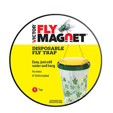 victor poison free victor poison free fly magnet disposable fly trap with bait