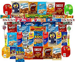 care package for college students mega snacks 50 count variety care package gift box