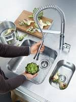 grohe alira kitchen faucet k7 semi pro faucet kitchen faucets grohe