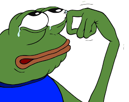 Memes Png - crying pepe transparent png stickpng