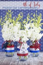 blue centerpieces 4th of july crafts 15 white and blue centerpieces style