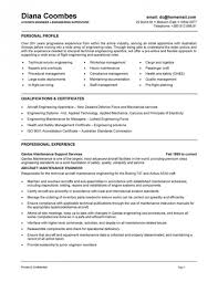 Resume Examples For Engineering Students by Amazing Maintenance Engineer Resume Sample Resume Format Web