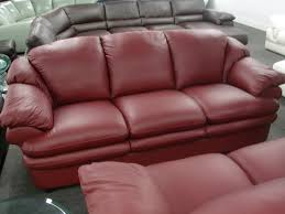New Leather Sofas For Sale Reddish Brown Leather Sofa Radiovannes