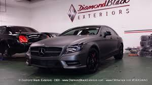 charcoal jeep grand cherokee black rims mercedes benz cls550 by dbx wrapped in frozen grey matte metallic