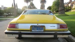 1976 chevrolet camaro lt 5 7l 350 daytona yellow muscle car