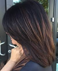 medium lentgh hair with highlights and low lights 60 hairstyles featuring dark brown hair with highlights