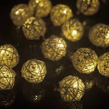 String Ball Lights by M U0026t Tech 20 Led Globe String Lights Solar Powered For Christmas