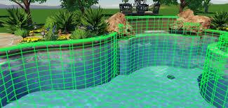 Backyard Design Program Free by 3d Pool Designs Online Pool Designs Free Swimming Pool Plans