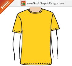apparel men u0027s blank t shirt template free vector vector t shirt