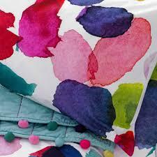 bluebellgray abstract duvet cover super king size shabby