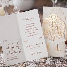 wedding cards for and groom wedding invitations laser cutting invitation cards and groom