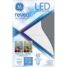 ge led 12w r30 reveal led light bulb walmart com