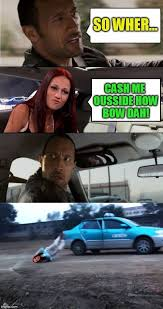 The Rock In Car Meme - the rock driving living everyone s dream imgflip