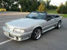 mustang 1991 for sale buy used 1991 ford mustang gt convertible 2 door 5 0l 65k original