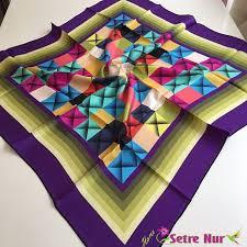 silk home silk home eşarp modeli 10 setrenur