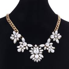 silver fashion statement necklace images Buy statement necklaces pendants crystal maxi jpg