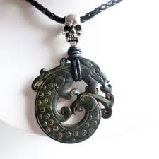 dragon jade necklace pendant images Shop carved jade dragon pendants on wanelo jpg