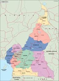 Map Of Cameroon Cameroon Maps Digitalmaps Co Uk By Netmaps Vector U0026 Wall Maps