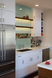 blue glass kitchen canisters kitchen contemporary with wine