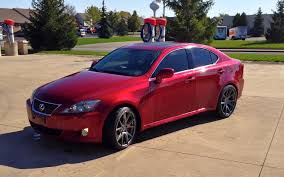 red lexus is 350 8 5